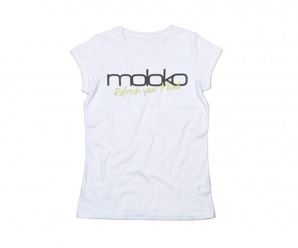 Moloko Shirt - Damen - weiß