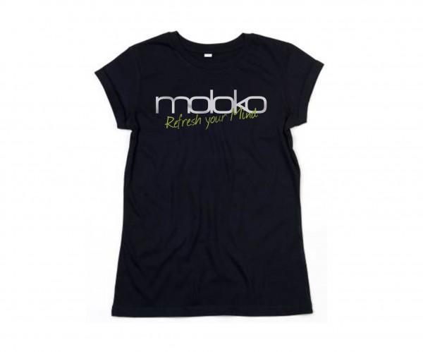 Moloko Shirt - Damen schwarz