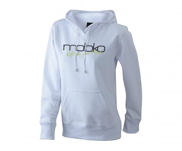 Moloko Hoodie - Damen weiß